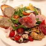 ラ・テンダ・ロッサ - 前菜盛り合わせ