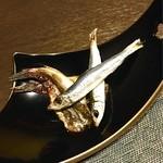 旬味 やま修 - メヒカリの味醂干しとウルメイワシ