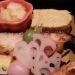 48543592 - 松花堂弁当の焼き魚 2016.2