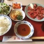 美福苑 - ロース焼肉ランチ
