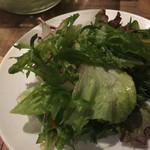 センバキッチン ニューヨークイタリアン - シンプルグリーンサラダ 380円