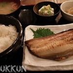 居酒屋革命 酔っ手羽酒場 - ほっけ焼定食 740円