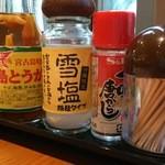 ぱいぱいのむら - 卓上調味料