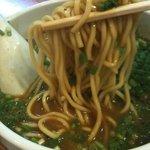 麺屋 高橋 - '10・08・17 高橋 麺のアップ