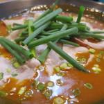 48552091 - 赤いかれー麺(激辛)アップ