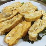 とり勝 - 2016年3月中旬  懐かしい味の玉子焼き。