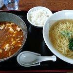 中国家庭料理 花りん - 麻婆つけ麺(塩)