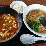 中国家庭料理 花りん - 麻婆つけ麺(醤油)