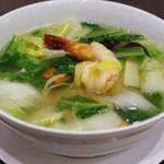 中国料理 桃翠 - 海鮮入り湯麺