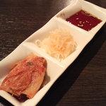 鹿児島黒毛和牛焼肉 Vache - キムチ&ナムル&タレ