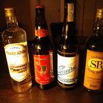 バランサ - カシャーサというブラジルの地酒です。サトウキビ原料ですが、ラムとはまったく異なる酒です。