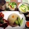 バーンタイ・マーケット - 料理写真:揚げ鶏ごはん