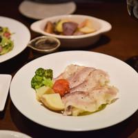 Cafe & Dining SOLA - 豚肉と野菜の蒸ししゃぶ