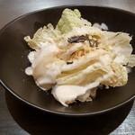 神戸六甲道・ぎゅんた - 白菜サラダ