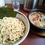 つけ麺 うまづら - 全部のせ辛つけ麺(1150円)