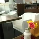 48566788 - 明るく広い喫茶コーナー