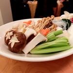 翠林 - 薬膳火鍋ディナー 野菜