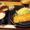 かつ膳 - 料理写真:2016年3月 開運とんかつ定食(1100円)