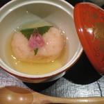馳走 かく田 - <2016年3月>煮物:金目鯛の桜蒸し