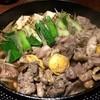 ひのと - 料理写真:H28.03.11 東京しゃもと新ごぼう 軍鶏鍋