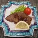 ふく・長州料理 KATSUMOTO - 国産和牛のステーキ 2016.2