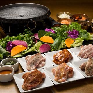 サムギョプサル食べ放題1,980円