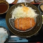トンマル - ロースかつ定食 1,000円