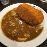 カレーハウス CoCo壱番屋 - 料理写真:海の幸カレー+ロースカツ