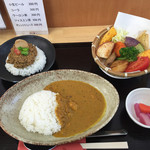 鎌倉野菜カレー かん太くん - 「よくばりセット」1,200円