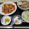 久香亭 - 料理写真:酢豚と醤油ラーメン@880