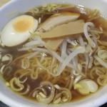 久香亭 - 醤油ラーメン(小)