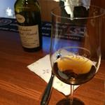 Wine&Highball つちや - とっておきのカルヴァドスがあります。