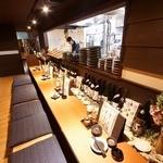 農家と漁師の台所 北海道知床漁場 - 調理場に面したカウンター席!