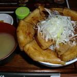 豚料理専門店 銀呈 - 豚丼です♪