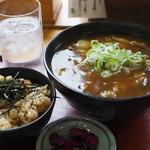 そば処 大正庵 - カレー蕎麦とかやくご飯