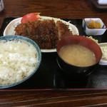 味処 東 - ソースかつ定食¥880☆