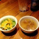 48594332 - スープが独特な味で美味しい!