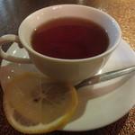 Cafeひので - モーニングセット レモンティー