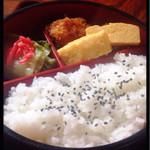 48596763 - ラーメン定食のお弁当☆