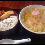 48596766 - ラーメン定食 ¥650☆