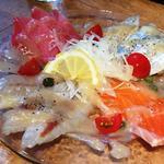 浜焼き しんちゃん - 海鮮カルパッチョ