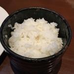 隆座 - ごはん(普通盛り)