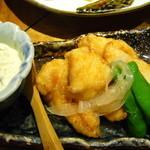 くろ酒場 薩摩 -  宮崎地鶏の南蛮揚げ