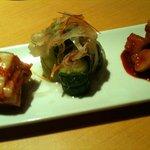 焼肉JAPAN - キムチ盛り合わせ