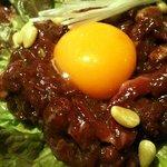 焼肉JAPAN - ユッケ刺