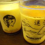 マーロウ - 逗子限定ビーカー入り 北海道フレッシュクリームプリン&クリームチーズプリン