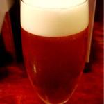 ローストビーフ大野 - 生ビール小 400円