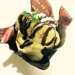 デザート ラボ ショコラ - チョコバナナ
