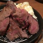 平澤精肉店 - ギュウタン炭火焼(塩麹味付け)740円