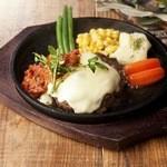 ハンバーグ&ステーキ食堂 KURAUZO - イタリアンハンバーグ